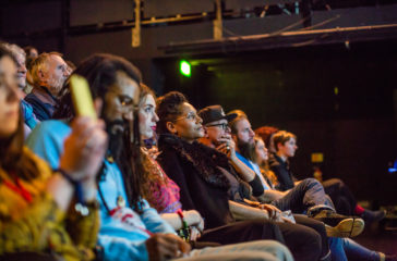 Audience watches show