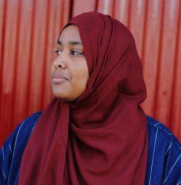 Creative Exchange Lab artist Asmaa Jama